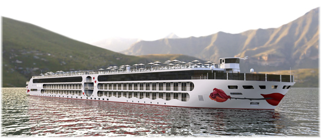 The new E-Motion Ship River Cruise Vessel