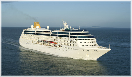 The P&O Cruises' 710-berth Adonia