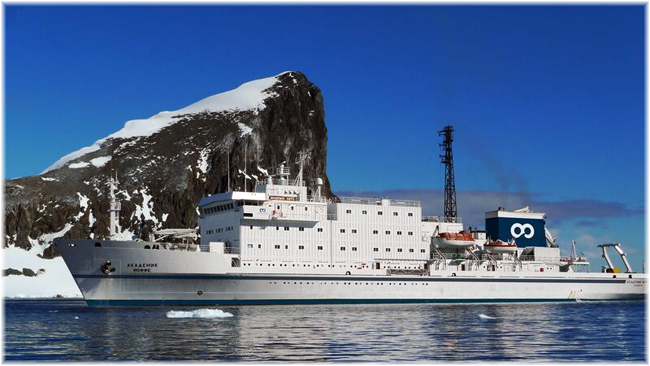 The Akademik Ioffe