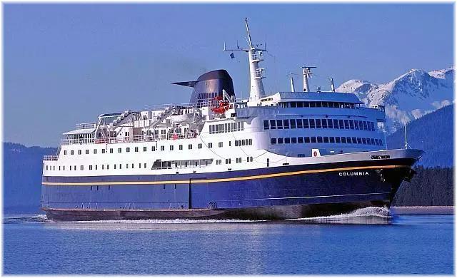 Alaska Marine Highway flagship M.V. Columbia
