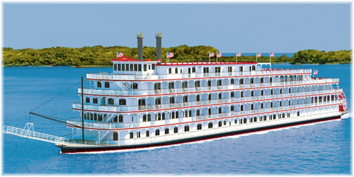 American Cruise Lines' 150-passenger riverboat American Eagle (Rendering, courtesy of American Cruise Lines)