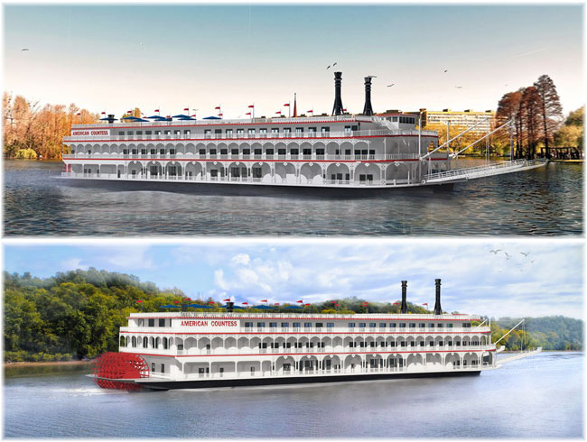 American Countess  (Rendering Gulf Island Fabrication, Inc)