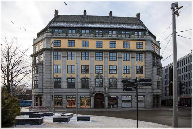 Amerikalinjen, the new Oslo hotel with a significant seafaring legacy