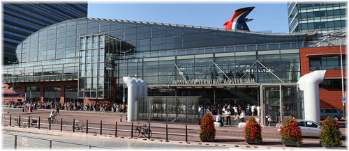 Amsterdam: the PTA cruise terminal