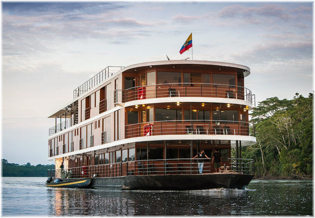 The Anakonda is the ideal river ship to discover this rarely-visited region of the Amazon