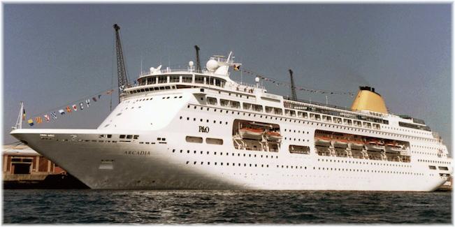 P&O Cruises' Arcadia (II) 1997-98