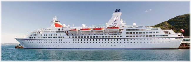 The 21,000grt Astor - Cruise and Maritime Voyages