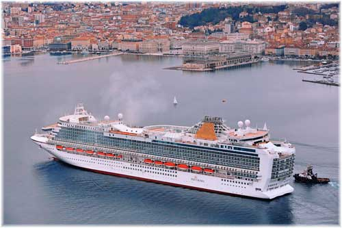 Azura in this image at Trieste