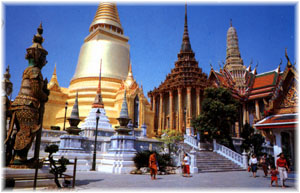 Bangkok - The Golden Pagoda