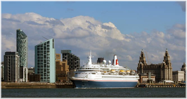 Fred. Olsen Cruise Lines' 'Black Watch' at Liverpool