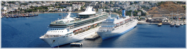 Bodrum Cruise Port (Courtesy GPH)