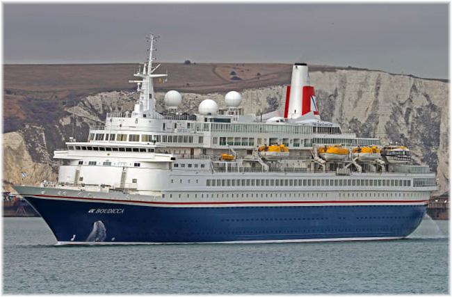 Fred. Olsen Cruise Lines' Boudicca  (Courtesy Fred. Olsen Cruise Lines)