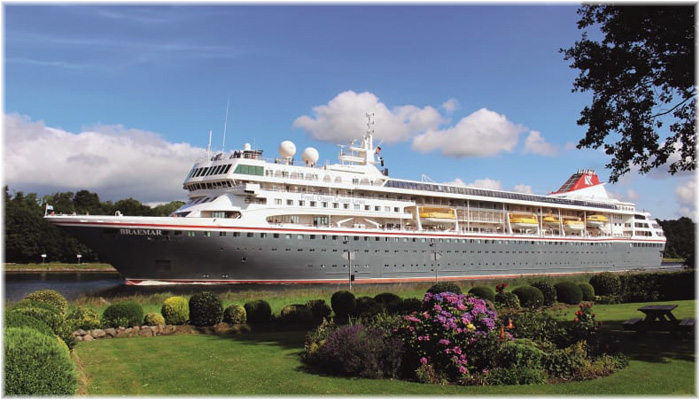 Fred. Olsen Cruise Lines' Braemar