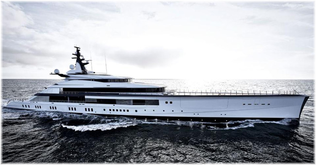 The 358 foot Bravo Eugenia was completed by Oceanco in 2018