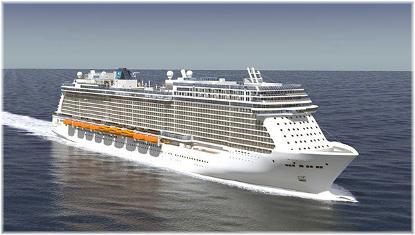 Artist impression of the Norwegian's Breakaway Plus (Courtesy NCL)