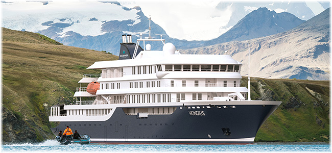 The new 180-berth polar class expedition vessel (Artist impression)