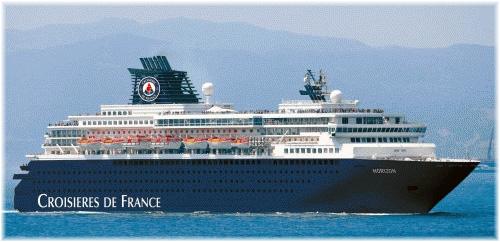 Croisières de France's 46,811-ton Horizon