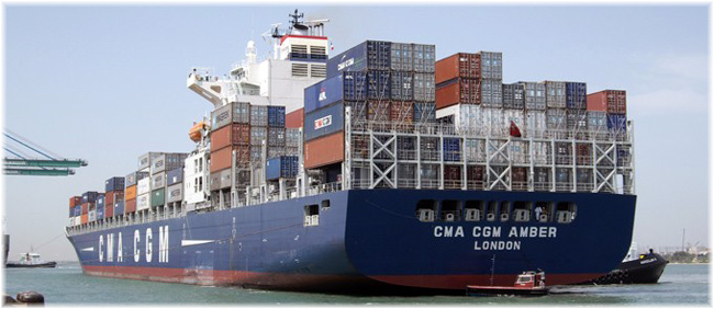 The 5 passenger CMA CGM Amber and CMA CGM Coral operate between Hong Kong, Brisbane and new Zealand ports