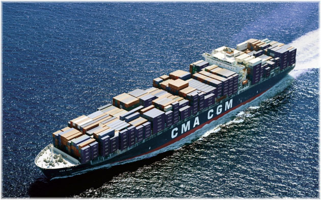 The 10-passenger CMA CGM Bellini