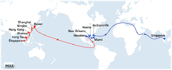 The PEX 3, operating five ships from the US Gulf and Florida