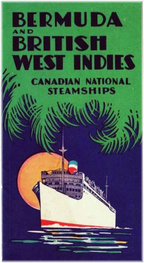 Canadian National Steamships: The First Lady Ships
