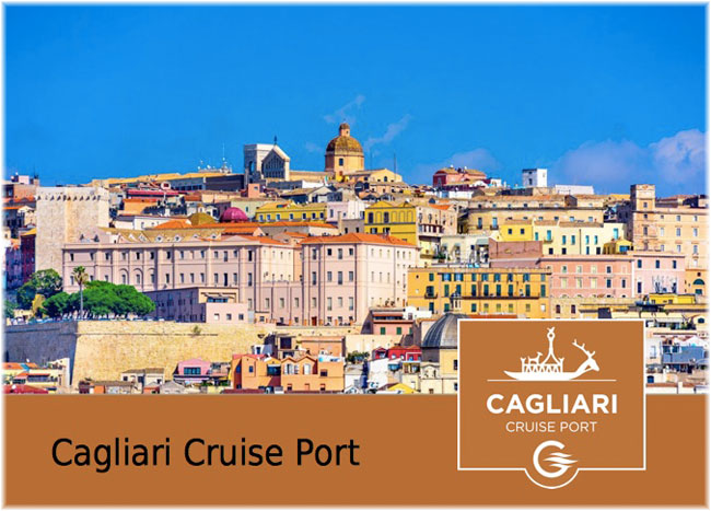Cagliari is the main port of Sardinia, as well as the regional capital with about 150,000 inhabitants