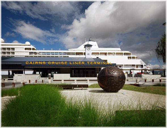 Cairns, Australia: the Cruise Terminal (Courtesy Arkhefield)