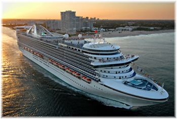 Caribbean Princess out of Ft. Lauderdale