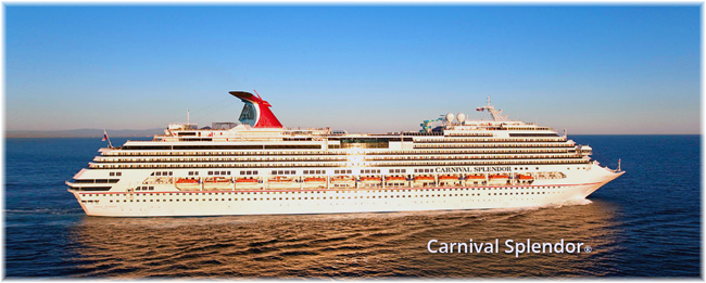 The Carnival Splendor (Courtesy Carnival Cruise Line)