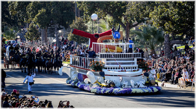 Carnival Cruise Line Brings Fun To The Rose Parade