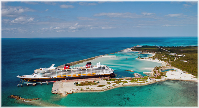 Castaway Cay, Disney's private island paradise reserved exclusively for Disney Cruise Line guests (Courtesy Disney Cruise Line)