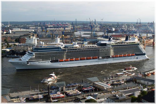 Celebrity Silhouette in Hamburg