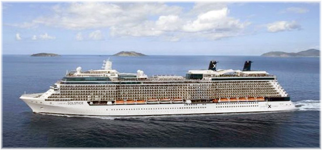 Celebrity Solstice (Click to enlarge)