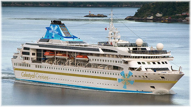 The Celestyal Nefeli (Courtesy of Celestyal Cruises)