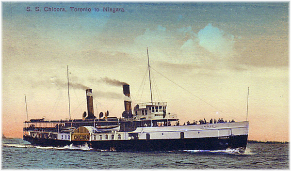 Confederate blockade runner Letter B became the Toronto-Noagara steamser Chicora