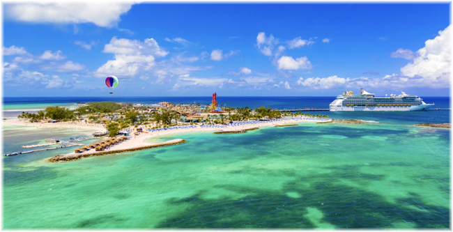 Royal Caribbean International's private island in The Bahamas: Perfect Day at CocoCay