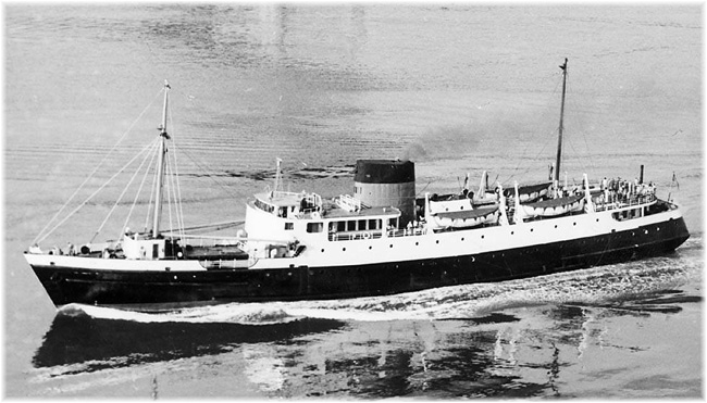 Union Steamship's Coquitlam became Alaska Cruise Lines Glacier Queen in 1958