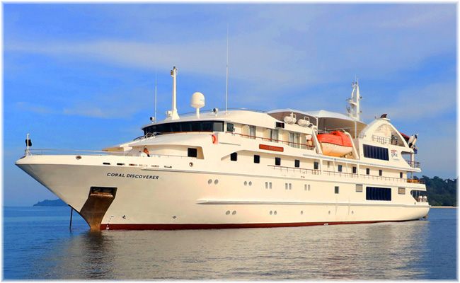 The 72-berth Coral Discoverer  (Former Oceanic Discoverer)