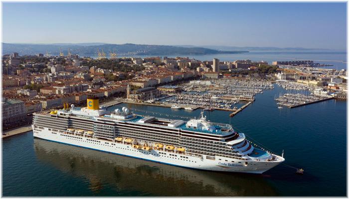 Costa Deliziosa in Trieste