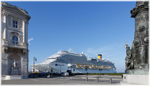 Costa Diadema at Trieste