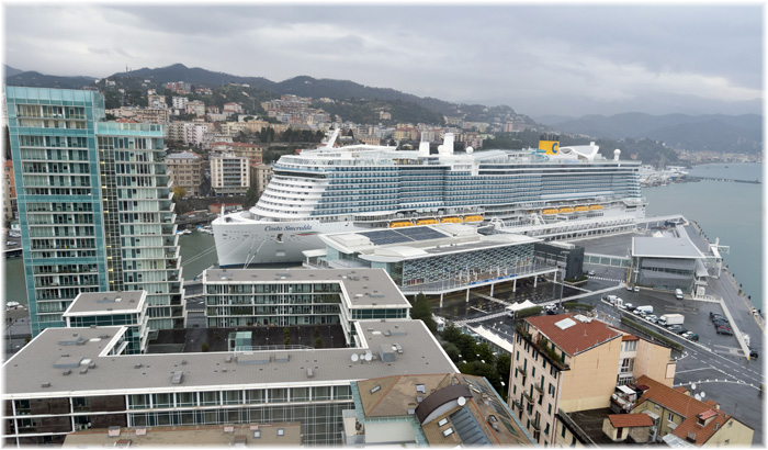 Costa Smeralda in Savona (December 2019, Costa Cruises)
