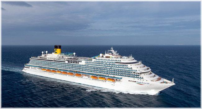 Costa Venezia (Courtesy of Costa Cruises)