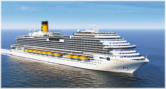 Artist impression of the Costa Venezia (Courtesy of Costa Cruises)