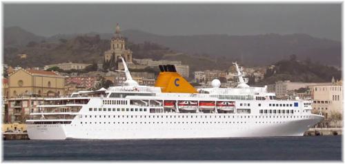 Costa Voyager. Ex Iberocruceros Grand Voyager - image by Roberto Munao'