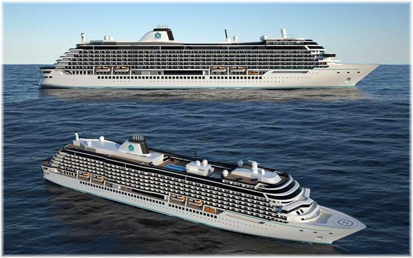 The new Diamond Class Ships - Crystal Cruises