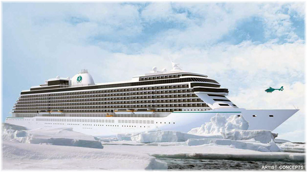 The Exclusive class ships was announced in 2015 (Artist concepts courtesy of Crystal Cruises) (Click to enlarge)