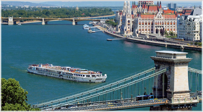 Crystal Mozart in Budapest (Courtesy Crystal Cruises)