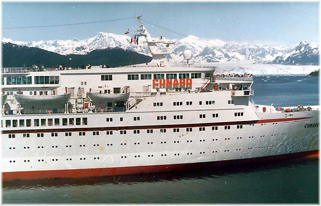 Cunard Princess in Alaska (1987)