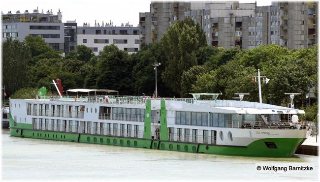 DCS Amethyst  in Vienna (Credit: Wolfgang Barnitzke at Shipspotting.com)