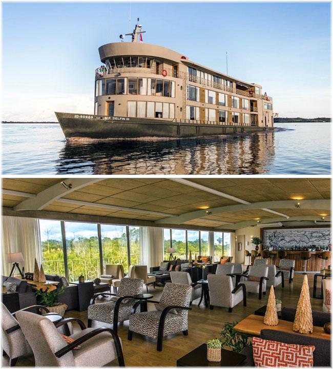 Delfin III - Delfin Amazon Cruises